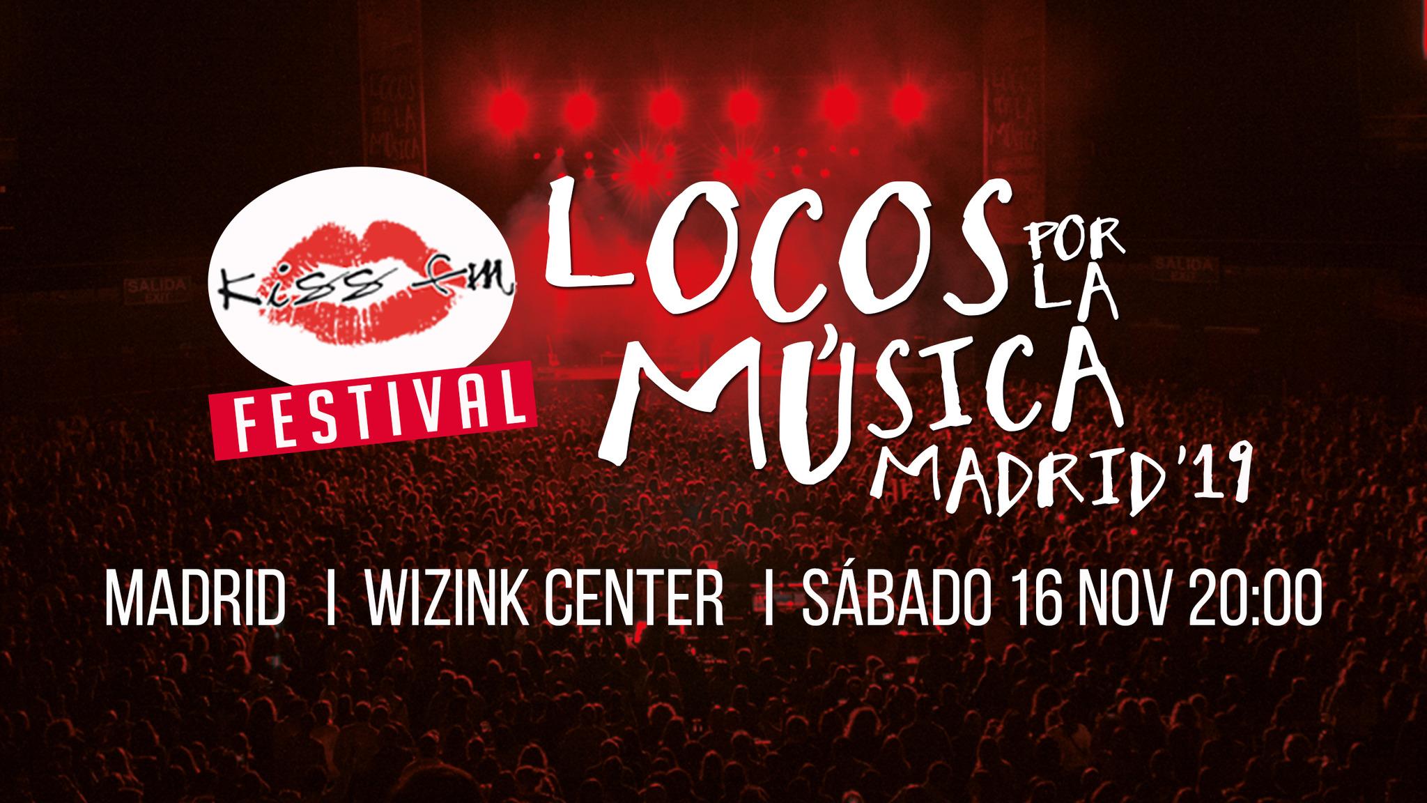 Cartel festival Locos por la Música